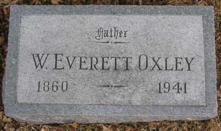 OXLEY, W. EVERETT - Cedar County, Nebraska | W. EVERETT OXLEY - Nebraska Gravestone Photos