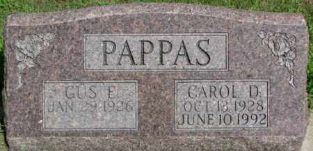 PAPPAS, CAROL D. - Cedar County, Nebraska | CAROL D. PAPPAS - Nebraska Gravestone Photos