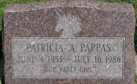 PAPPAS, PATRICIA A. - Cedar County, Nebraska | PATRICIA A. PAPPAS - Nebraska Gravestone Photos