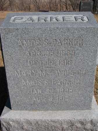 PARKER, MARY M. - Cedar County, Nebraska | MARY M. PARKER - Nebraska Gravestone Photos
