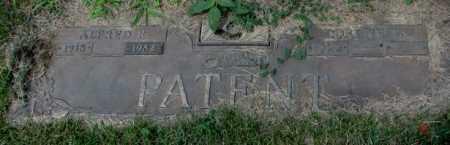 PATENT, LORENE W. - Cedar County, Nebraska | LORENE W. PATENT - Nebraska Gravestone Photos
