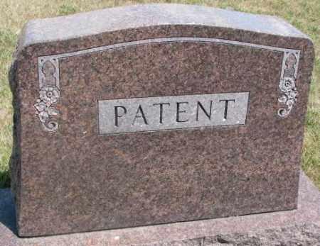 PATENT, PLOT - Cedar County, Nebraska | PLOT PATENT - Nebraska Gravestone Photos