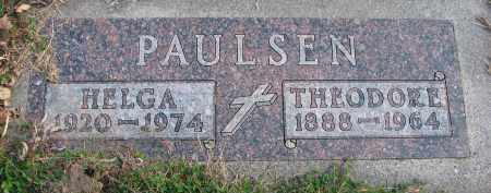 PAULSEN, HELGA - Cedar County, Nebraska | HELGA PAULSEN - Nebraska Gravestone Photos