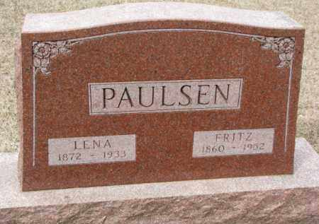PAULSEN, LENA - Cedar County, Nebraska   LENA PAULSEN - Nebraska Gravestone Photos