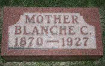 PECK, BLANCHE C - Cedar County, Nebraska | BLANCHE C PECK - Nebraska Gravestone Photos