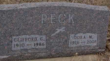 PECK, CLIFFORD (G. OR C.) - Cedar County, Nebraska | CLIFFORD (G. OR C.) PECK - Nebraska Gravestone Photos