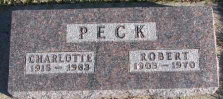 PECK, ROBERT - Cedar County, Nebraska | ROBERT PECK - Nebraska Gravestone Photos