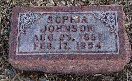 JOHNSON, SOPHIA - Cedar County, Nebraska | SOPHIA JOHNSON - Nebraska Gravestone Photos