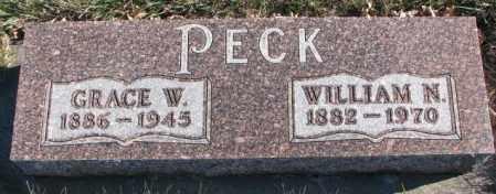 PECK, WILLIAM N. - Cedar County, Nebraska | WILLIAM N. PECK - Nebraska Gravestone Photos
