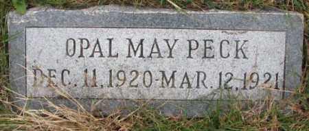 PECK, OPAL MAY - Cedar County, Nebraska   OPAL MAY PECK - Nebraska Gravestone Photos