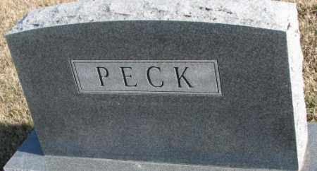 PECK, PLOT - Cedar County, Nebraska | PLOT PECK - Nebraska Gravestone Photos