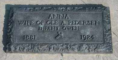 PEDERSEN, OWEN - Cedar County, Nebraska | OWEN PEDERSEN - Nebraska Gravestone Photos