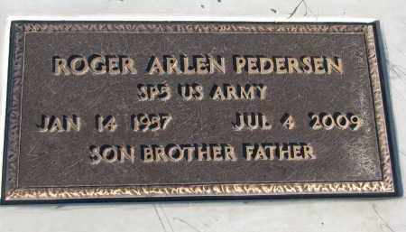 PEDERSEN, ROGER ARLEN - Cedar County, Nebraska | ROGER ARLEN PEDERSEN - Nebraska Gravestone Photos