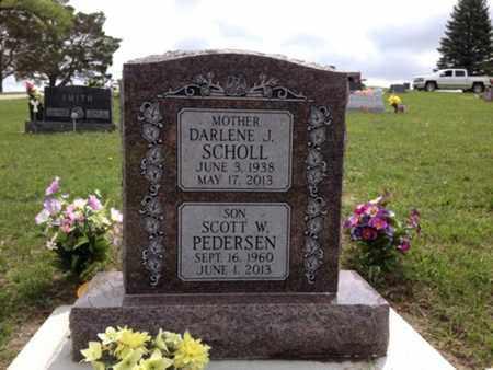 PEDERSEN, SCOTT W - Cedar County, Nebraska | SCOTT W PEDERSEN - Nebraska Gravestone Photos