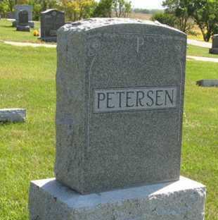 PETERSEN, FAMILY - Cedar County, Nebraska | FAMILY PETERSEN - Nebraska Gravestone Photos