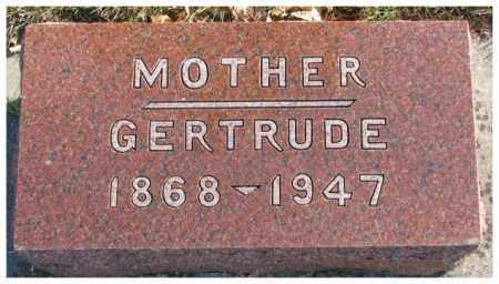 PETERSEN, GERTRUDE - Cedar County, Nebraska | GERTRUDE PETERSEN - Nebraska Gravestone Photos
