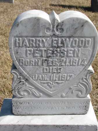 PETERSEN, HARRY ELWOOD - Cedar County, Nebraska | HARRY ELWOOD PETERSEN - Nebraska Gravestone Photos