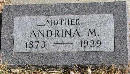 PETERSON, ANDRINA M. - Cedar County, Nebraska | ANDRINA M. PETERSON - Nebraska Gravestone Photos