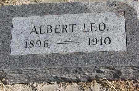 PETERSON, ALBERT LEO - Cedar County, Nebraska   ALBERT LEO PETERSON - Nebraska Gravestone Photos