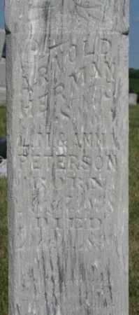 PETERSON, ARNOLD HERMAN - Cedar County, Nebraska | ARNOLD HERMAN PETERSON - Nebraska Gravestone Photos
