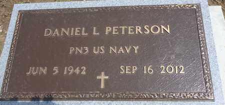 PETERSON, DANIEL L - Cedar County, Nebraska | DANIEL L PETERSON - Nebraska Gravestone Photos