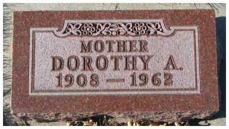 PETERSON, DOROTHY A. - Cedar County, Nebraska | DOROTHY A. PETERSON - Nebraska Gravestone Photos