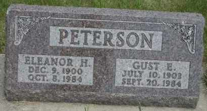 PETERSON, GUST E - Cedar County, Nebraska | GUST E PETERSON - Nebraska Gravestone Photos