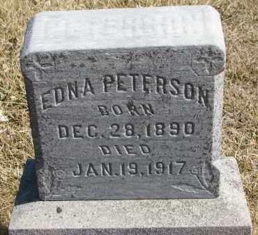 PETERSON, EDNA - Cedar County, Nebraska | EDNA PETERSON - Nebraska Gravestone Photos