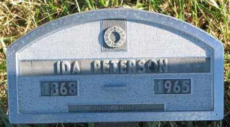 PETERSON, IDA - Cedar County, Nebraska | IDA PETERSON - Nebraska Gravestone Photos