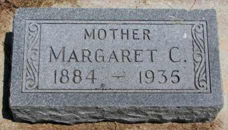 PETERSON, MARGARET C. - Cedar County, Nebraska   MARGARET C. PETERSON - Nebraska Gravestone Photos