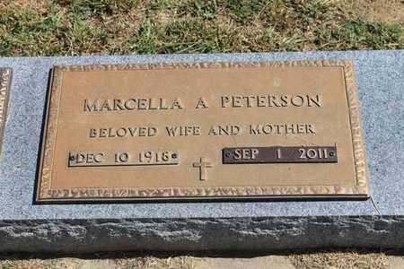 "PETERSON, MARCELLA A ""SALLY"" - Cedar County, Nebraska | MARCELLA A ""SALLY"" PETERSON - Nebraska Gravestone Photos"