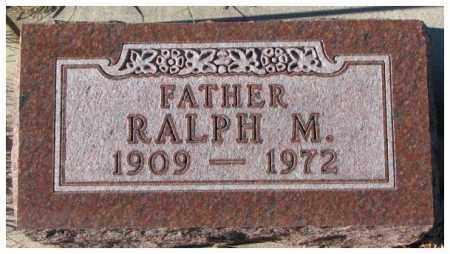 PETERSON, RALPH M. - Cedar County, Nebraska | RALPH M. PETERSON - Nebraska Gravestone Photos