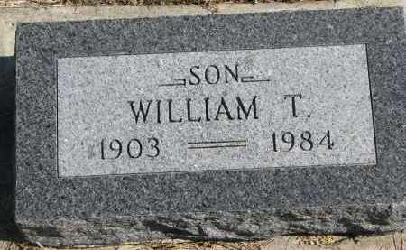 PETERSON, WILLIAM T. - Cedar County, Nebraska   WILLIAM T. PETERSON - Nebraska Gravestone Photos