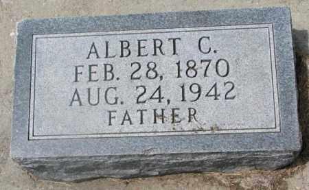 PHILLIPS, ALBERT C. - Cedar County, Nebraska | ALBERT C. PHILLIPS - Nebraska Gravestone Photos