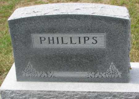 PHILLIPS, PLOT - Cedar County, Nebraska   PLOT PHILLIPS - Nebraska Gravestone Photos