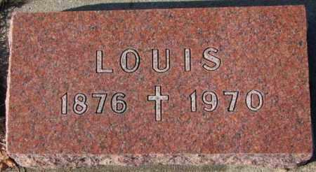 PICK, LOUIS - Cedar County, Nebraska | LOUIS PICK - Nebraska Gravestone Photos
