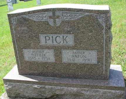 PICK, OTTILIA - Cedar County, Nebraska | OTTILIA PICK - Nebraska Gravestone Photos