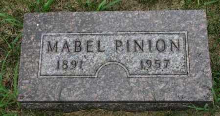 PINION, MABEL - Cedar County, Nebraska | MABEL PINION - Nebraska Gravestone Photos