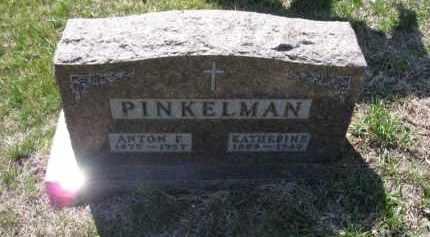 PINKELMAN, KATHERINE - Cedar County, Nebraska | KATHERINE PINKELMAN - Nebraska Gravestone Photos