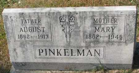 PINKELMAN, AUGUST - Cedar County, Nebraska | AUGUST PINKELMAN - Nebraska Gravestone Photos