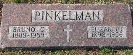 PINKELMAN, BRUNO C. - Cedar County, Nebraska | BRUNO C. PINKELMAN - Nebraska Gravestone Photos