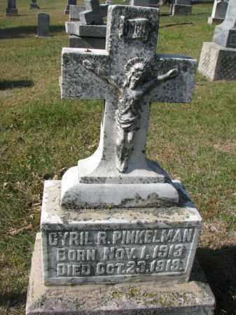 PINKELMAN, CYRIL R. - Cedar County, Nebraska | CYRIL R. PINKELMAN - Nebraska Gravestone Photos