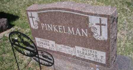 PINKELMAN, ELEANOR T. - Cedar County, Nebraska | ELEANOR T. PINKELMAN - Nebraska Gravestone Photos
