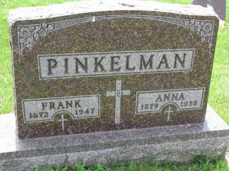 PINKELMAN, FRANK - Cedar County, Nebraska | FRANK PINKELMAN - Nebraska Gravestone Photos