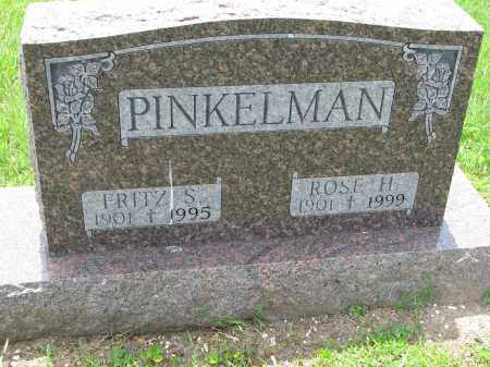 PINKELMAN, ROSE H. - Cedar County, Nebraska | ROSE H. PINKELMAN - Nebraska Gravestone Photos