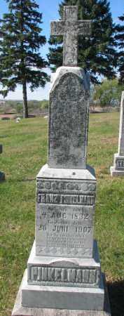 PINKELMAN, FRANZ - Cedar County, Nebraska | FRANZ PINKELMAN - Nebraska Gravestone Photos