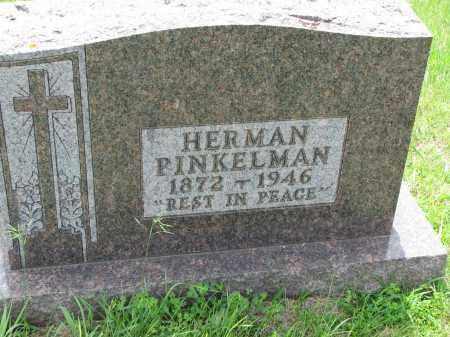 PINKELMAN, HERMAN - Cedar County, Nebraska   HERMAN PINKELMAN - Nebraska Gravestone Photos