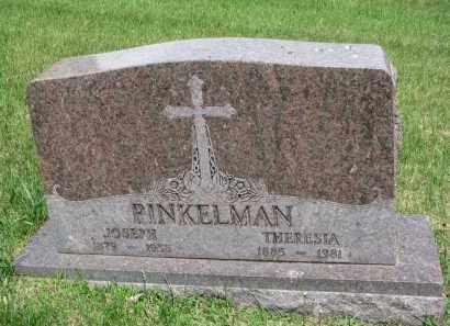 PINKELMAN, THERESIA - Cedar County, Nebraska   THERESIA PINKELMAN - Nebraska Gravestone Photos