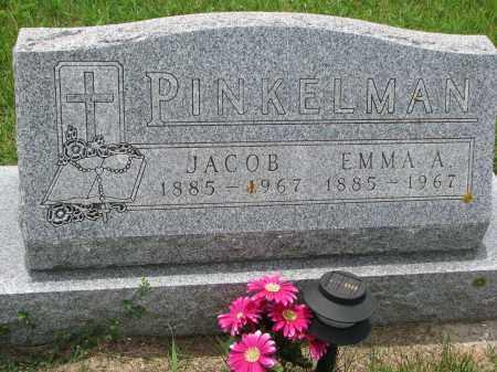 PINKELMAN, JACOB - Cedar County, Nebraska | JACOB PINKELMAN - Nebraska Gravestone Photos