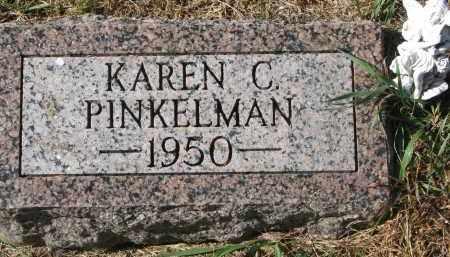PINKELMAN, KAREN C. - Cedar County, Nebraska | KAREN C. PINKELMAN - Nebraska Gravestone Photos